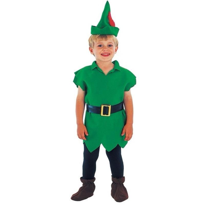 Carnaval Robin Hoodje kostuum voor kinderen