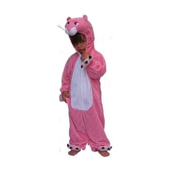 Carnaval Roze panter kinder kostuum pluche