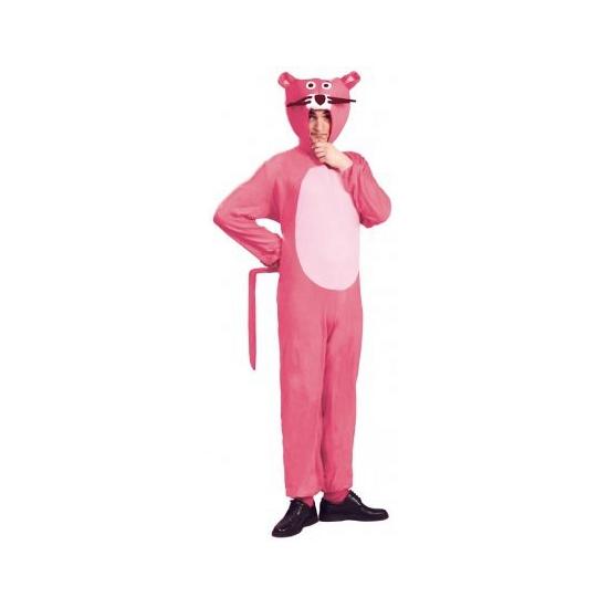 Carnaval Roze panter kostuum voor volwassenen