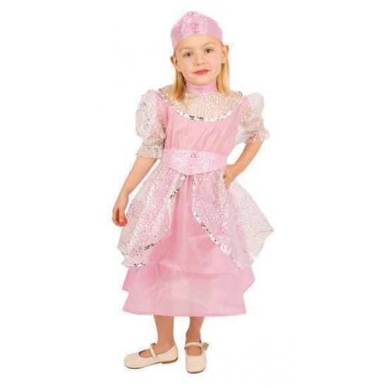 Fantasy en Sprookjes kostuums Carnaval Roze prinsessenjurk kinderen