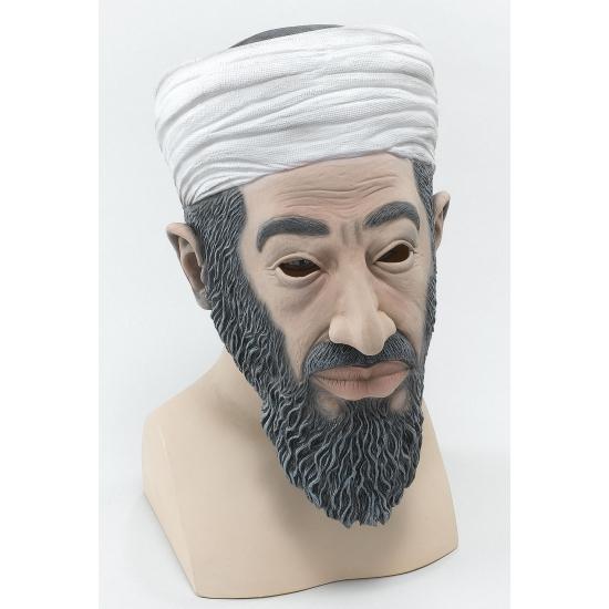 Feest Maskers Carnaval Rubber masker Osama bin Laden