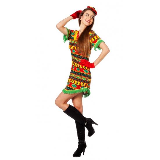 Landen kostuums Carnavalskostuum winkel Carnaval Sexy Mexicaans jurkje