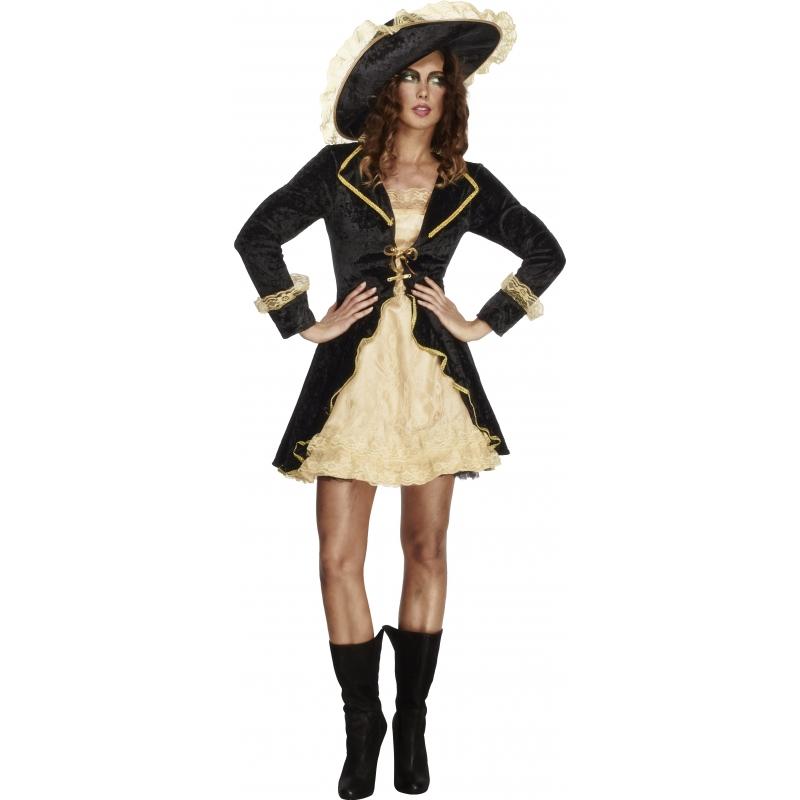 Geschiedenis kostuums Smiffys Carnaval Sexy piraten dames kostuum