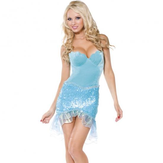 Carnaval Sexy zeemeermin outfit volwassenen