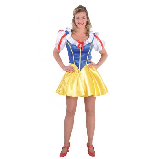 Carnaval Sneeuwwitje jurkje voor dames