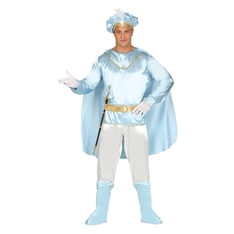 Carnaval Sprookjesprins kostuum voor heren