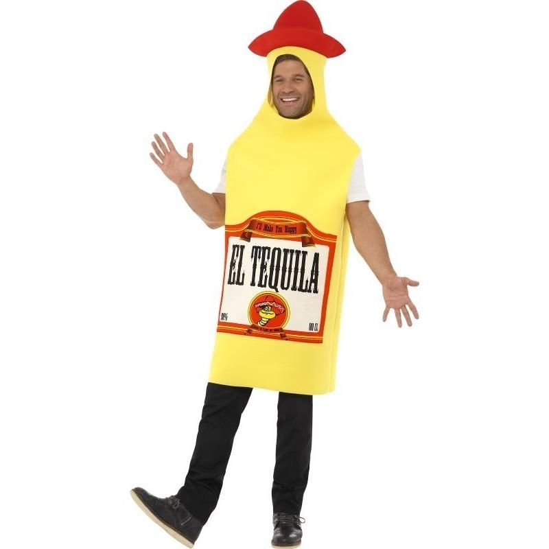 Carnaval Tequila fles kostuum voor heren