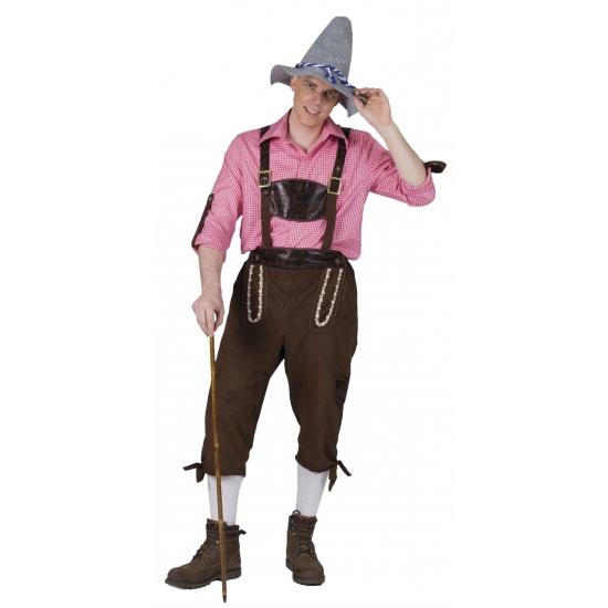 Carnaval Tiroler broek voor heren