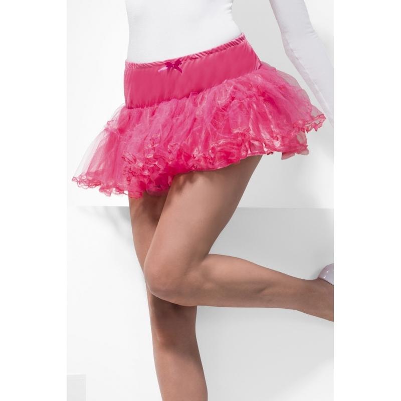 Carnaval Tule Petticoat Roze