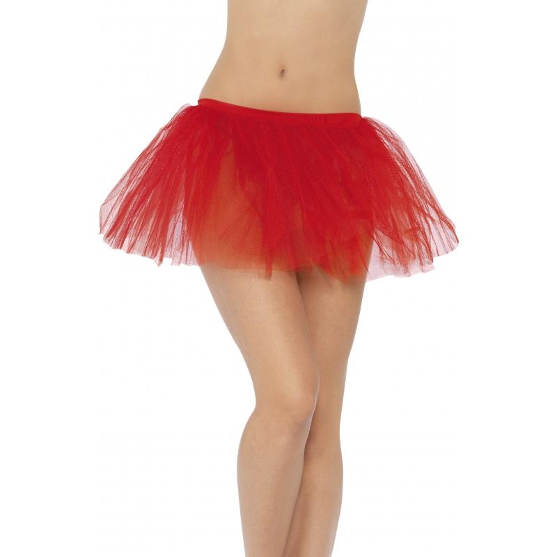 Carnaval Tutu Onderrok Rood
