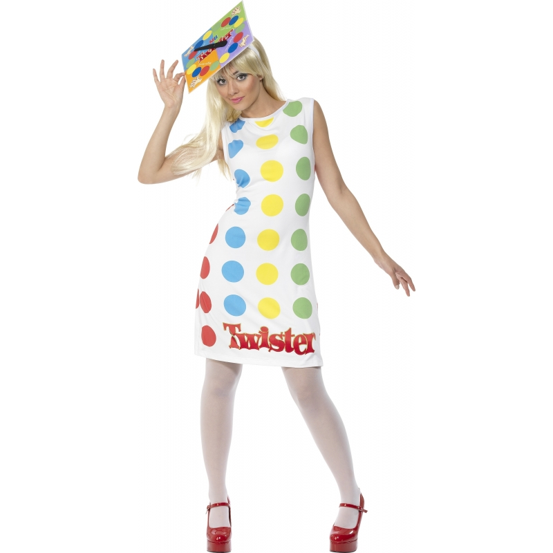 Carnaval Twister kostuum voor vrouwen