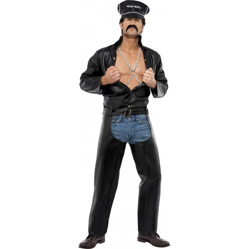 Carnaval Village People Biker kostuum