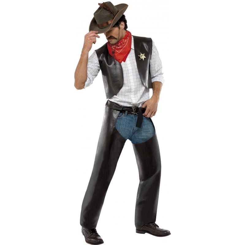 Carnaval Village People cowboy kostuum
