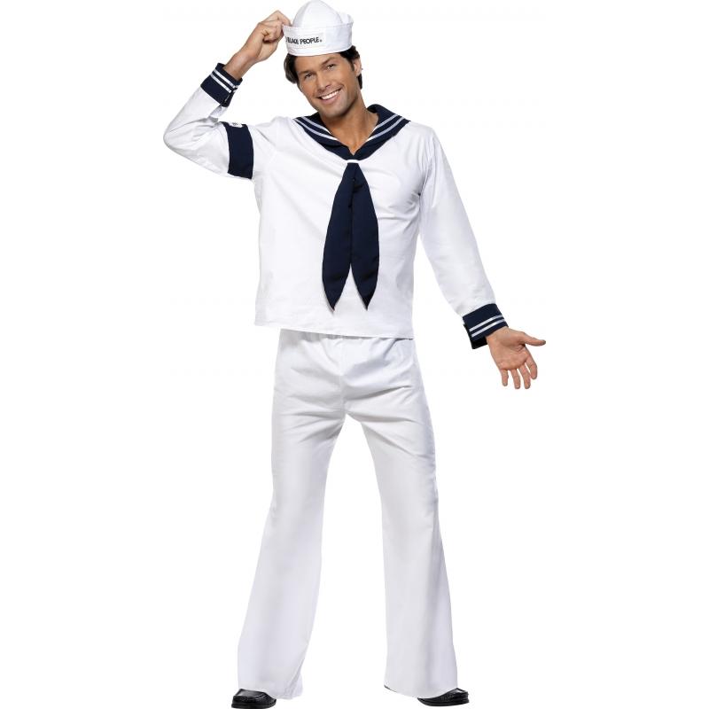 Carnaval Village People Navy kostuum