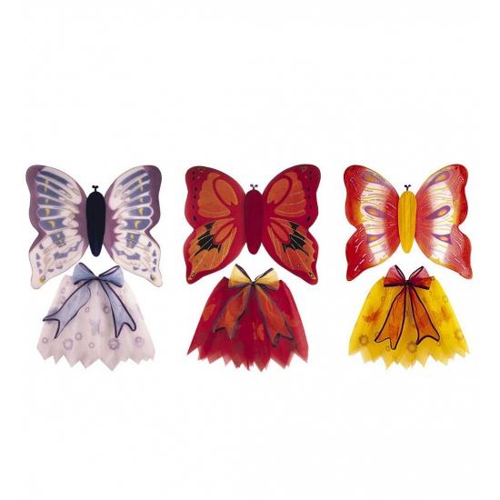 Carnaval Vlinder set voor kinderen