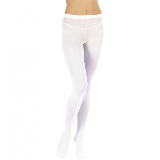 Carnaval Witte panty maillot