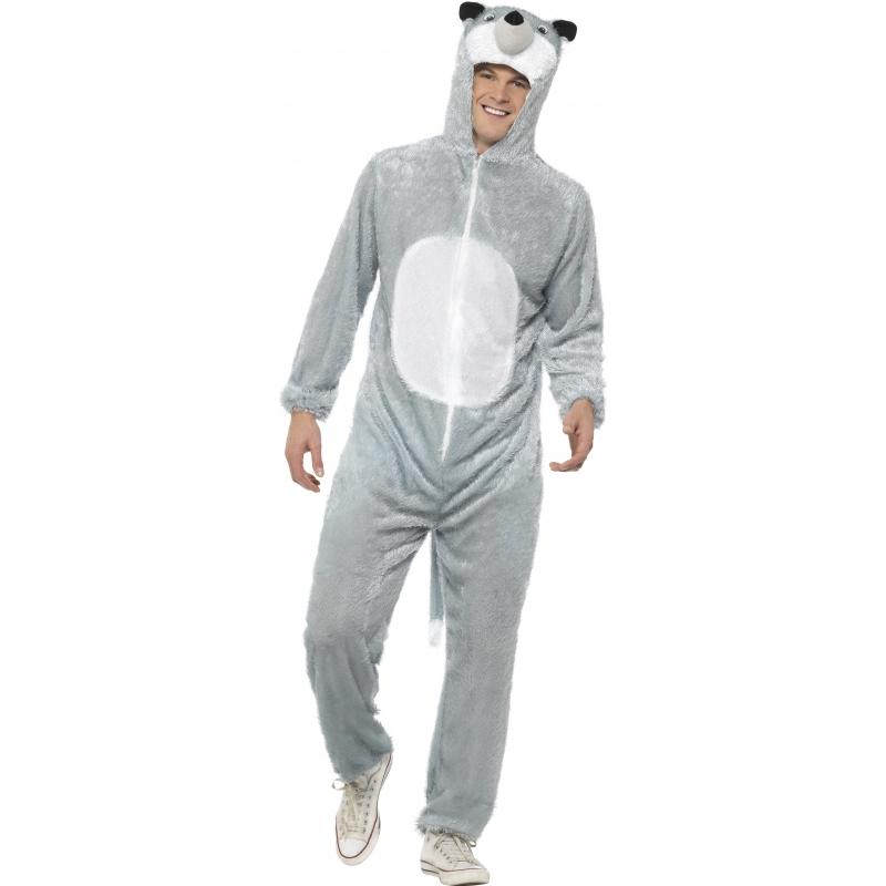 Dierenpakken Smiffys Carnaval Wolf kostuum voor volwassenen