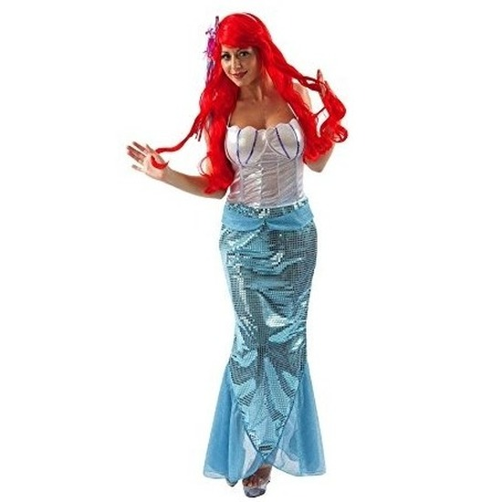 Carnaval Zeemeermin jurk voor dames