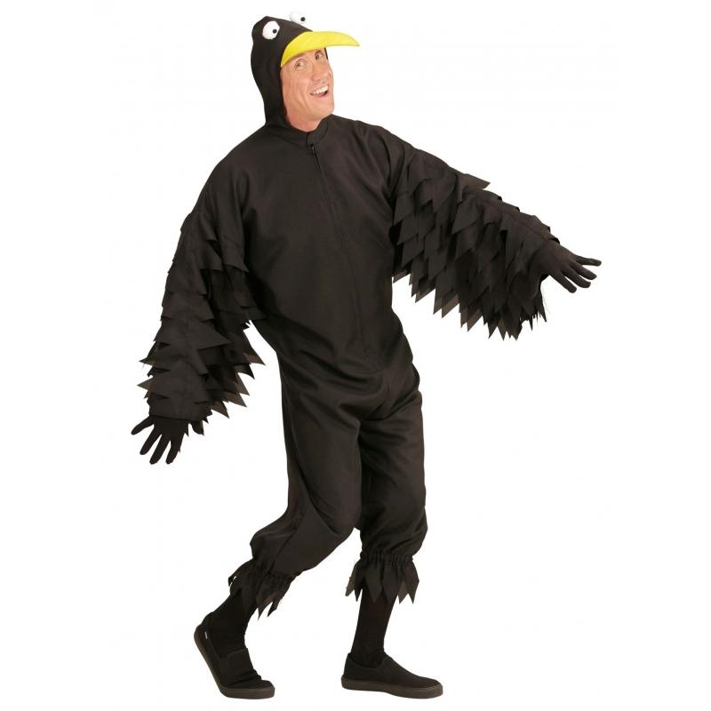 Carnaval Zwarte kraai kostuum voor volwassenen