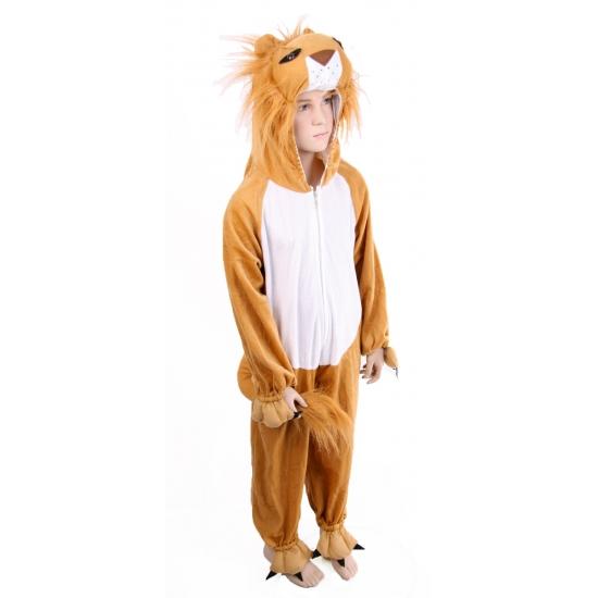 Dierenpakken Carnavals kinder outfit pluche leeuw