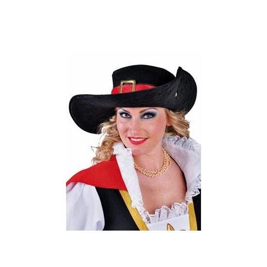 Feest hoeden Carnavalshoed luxe musketiers