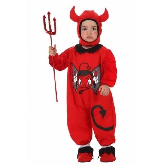 Carnavalskleding duivel voor baby