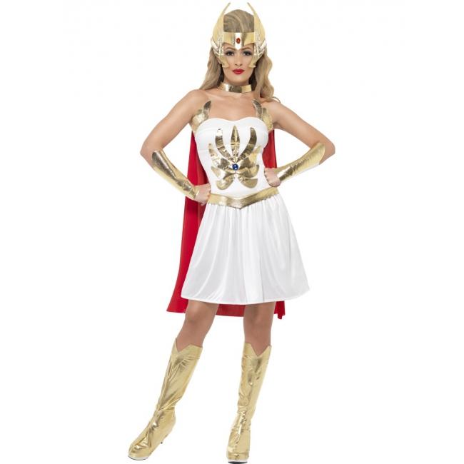 Cartoon serie She Ra kostuum voor dames