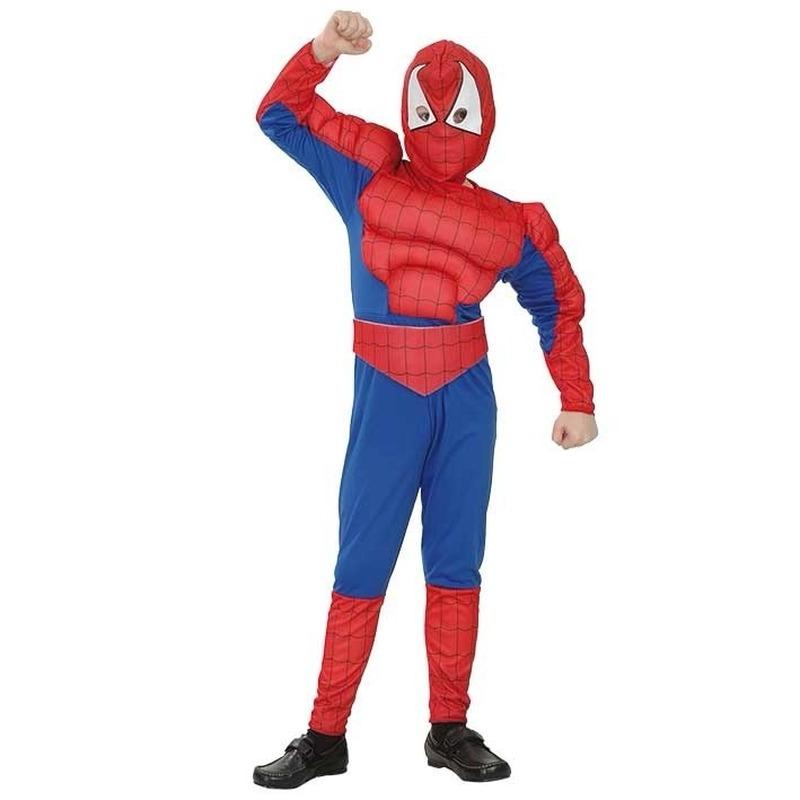 Superhelden en Cartoon kostuums Cartoon Spinnenheld kostuum voor jongens