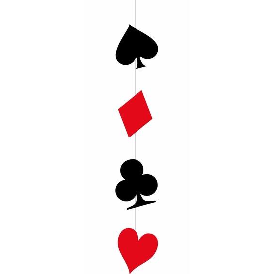 Casino/speelkaarten Deco