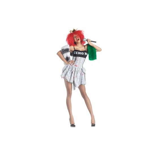 Bekende personen Carnavalskostuum winkel Censored superster jurkje