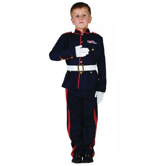 Beroepen kostuums Carnavalskostuum winkel Ceremonieel soldaten kostuum voor jongens