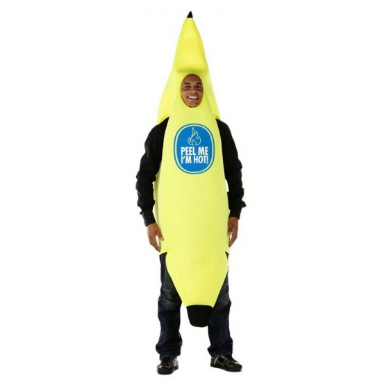 Chiquita bananen kostuum