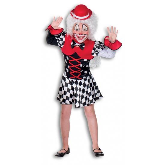 Clown verkleedjurkje voor kinderen