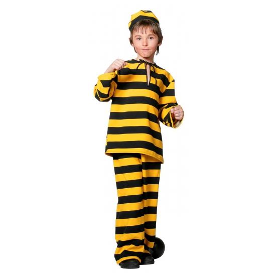 Beroepen kostuums Dalton boeven kostuum voor kinderen