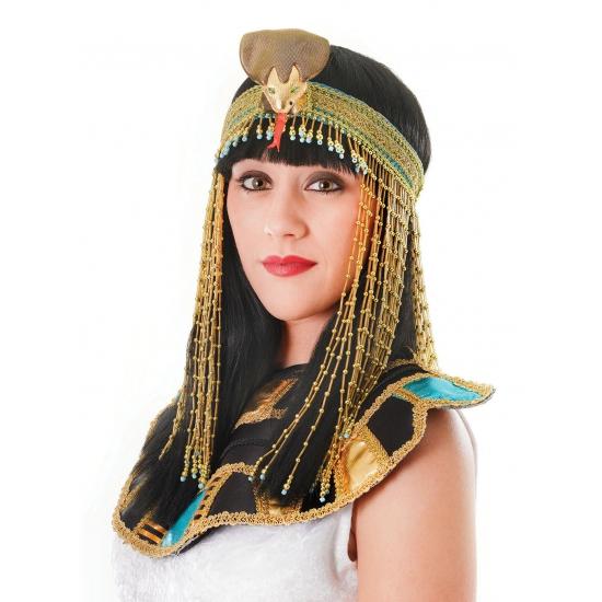 Verkleedaccessoires Carnavalskostuum winkel Dames hoofdbandje met kraaltjes