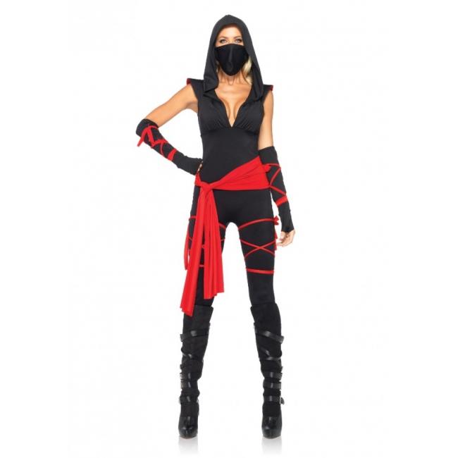 Dames Ninja carnavalskleding