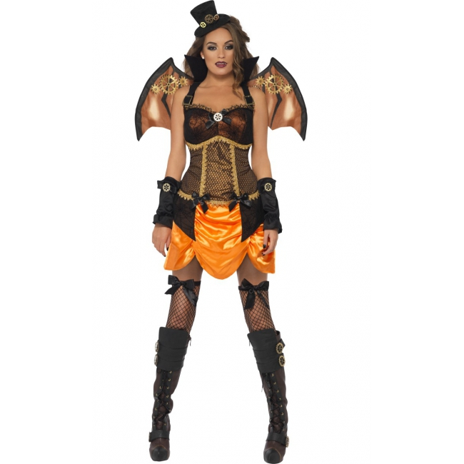 Dames steampunk pakje halloween