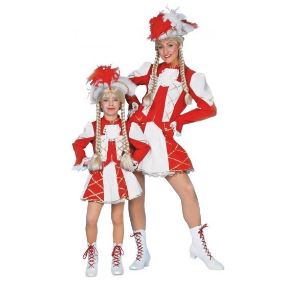 Sport kostuums Carnavalskostuum winkel Dansrok met jasje rood voor meisjes
