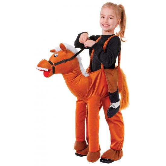 Dieren kostuum paardrijden voor kinderen Carnavalskostuum winkel Premier