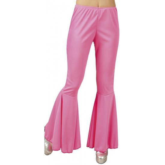 Disco broek roze voor dames Carnavalskostuum winkel te koop