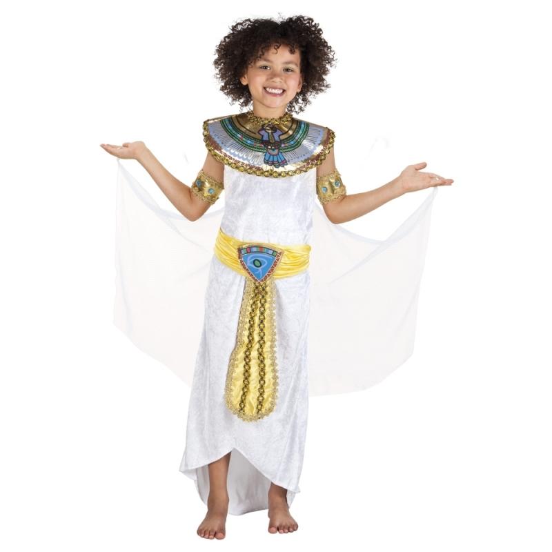 Egyptische godin Anoeket kostuum voor meisjes Carnavalskostuum winkel Geschiedenis kostuums