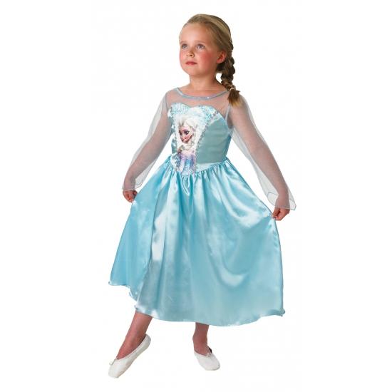Fantasy en Sprookjes kostuums Elsa Frozen kostuum voor kinderen