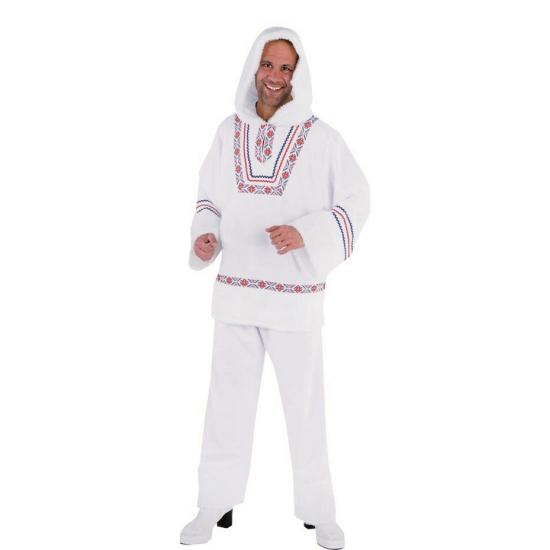 Eskimo kostuum met capuchon