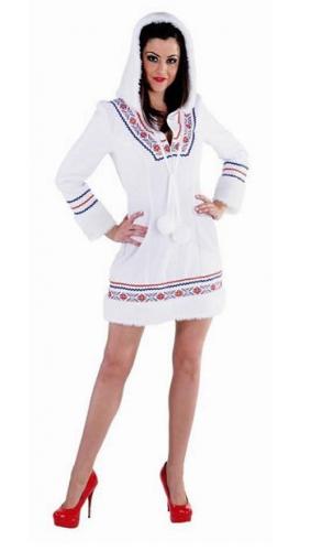 Eskimo verkleedkleding wit