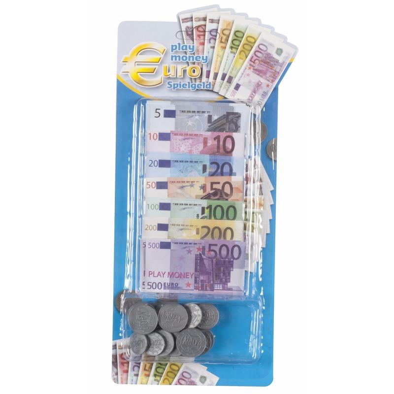 Euro speelgeld set 90 delig