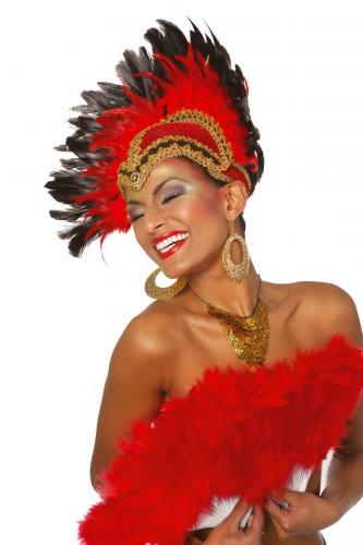 Feest hoofdtooi rood Carnavalskostuum winkel Koopje