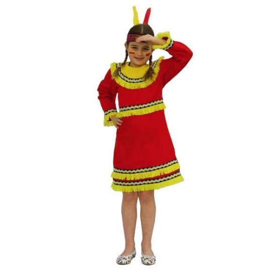 Feest indianenjurk voor meiden Carnavalskostuum winkel beste prijs