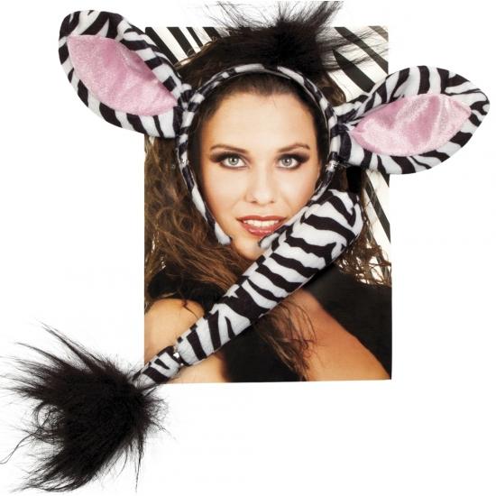 Feest Verkleedsetje Zebra