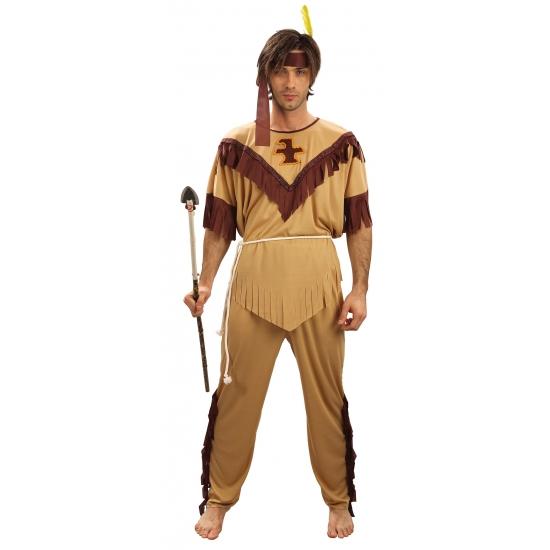Feestkleding indianen kostuum voor heren