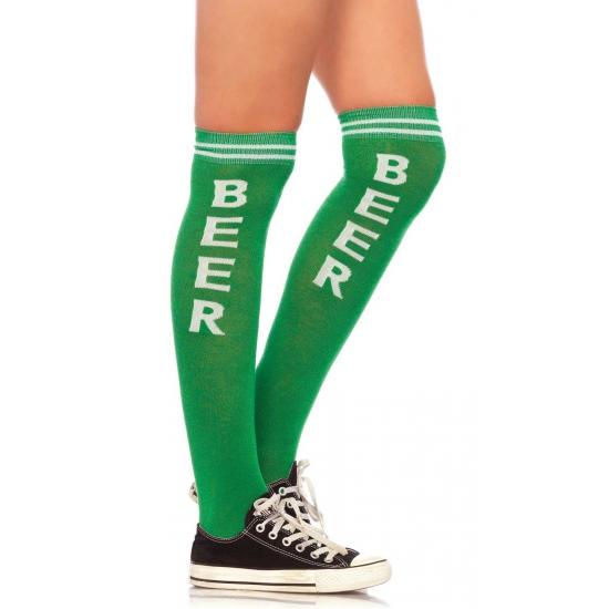 Feestkousen groen wit beer Leg Avenue Premier